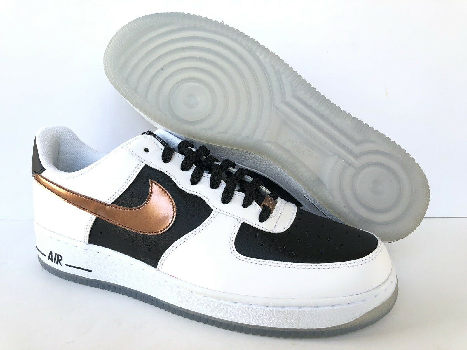 NIKE AIR FORCE 1 Weiß COPPER-schwarz  US MEN SZ 13