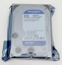 """WD Western Digital WD60EZAZ 6TB 5400RPM 256MB 3.5"""" SATA Internal Hard Drive"""
