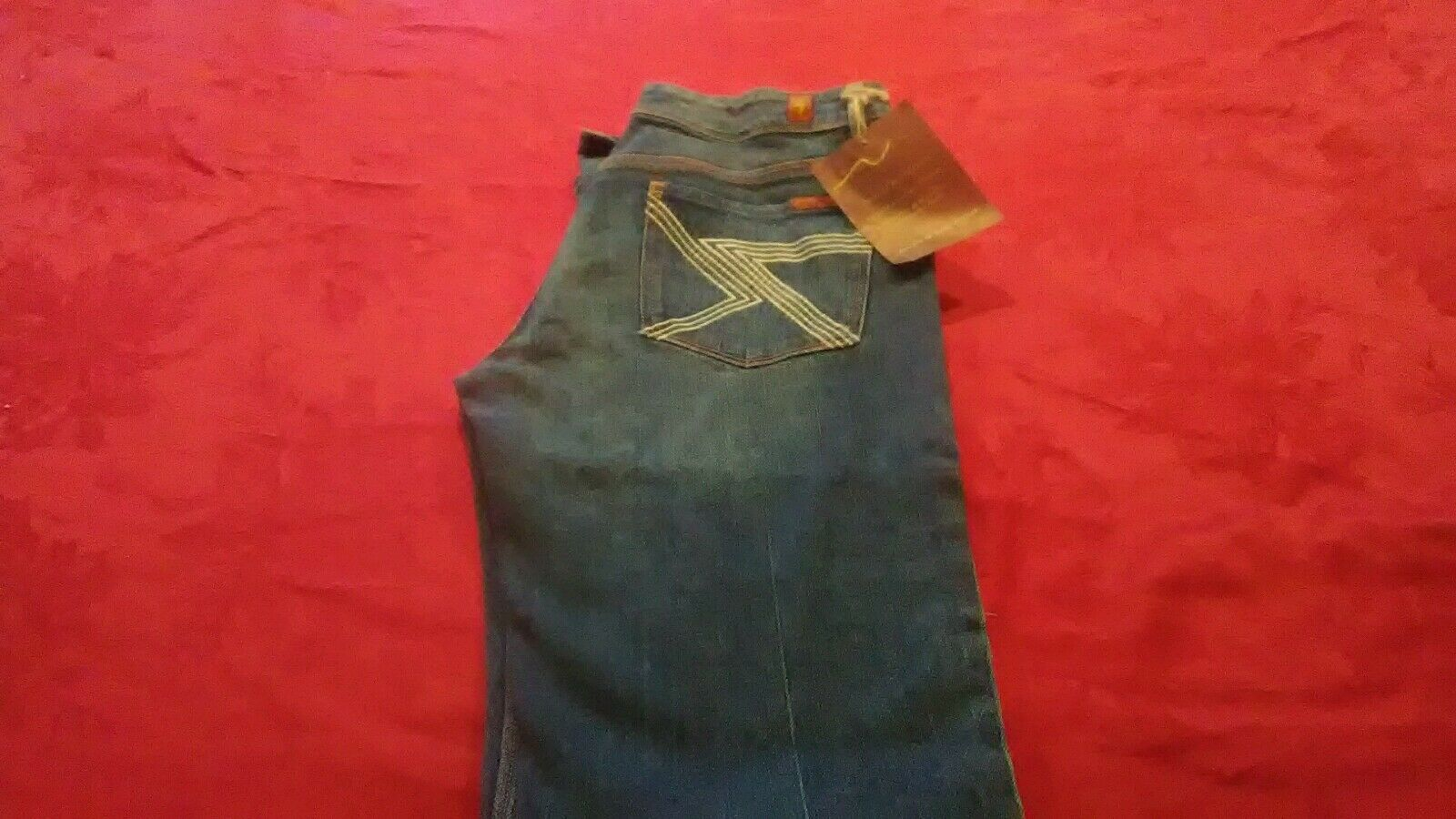Seven for All Mankind 7 Jeans Flynt Boot Cut Womens Sz 31 NWT (30x33)