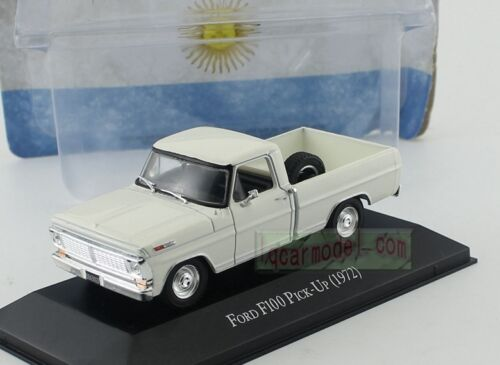 1/43 FORD F100 Pick UP 1972 White Diecast Car Model