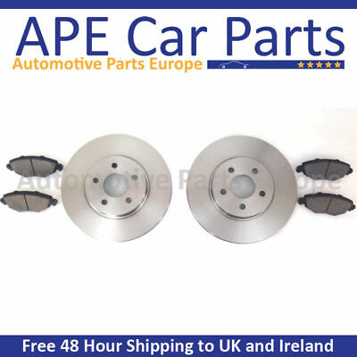 REAR BRAKE DISCS AND PADS NEW FOR TOYOTA COROLLA VERSO 1.6 1.8 2.0 2.2 D4D 04-09