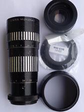F. canon m42 ennalyt Enna tele 1:4,5,/240/480mm 4.5/240/480 lens 10 bl. ir 2x con