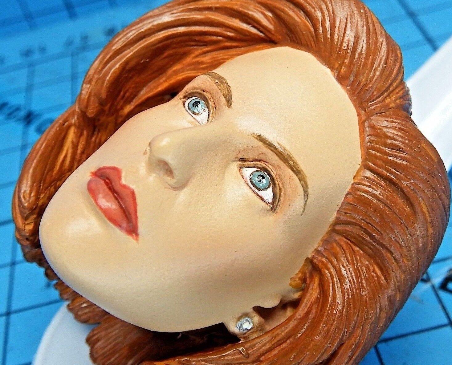 Sideshow 1 6 The X Files Dana Scully Figure - Gillian Anderson Head Sculpt