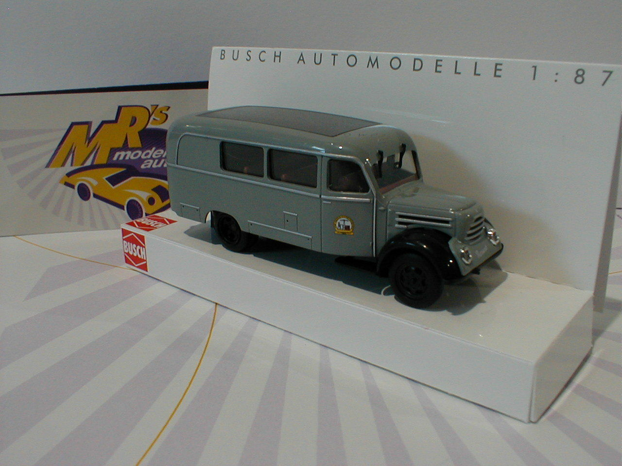 Busch 51860-robur 51860-robur 51860-robur garante K 30 combi 1957 gris