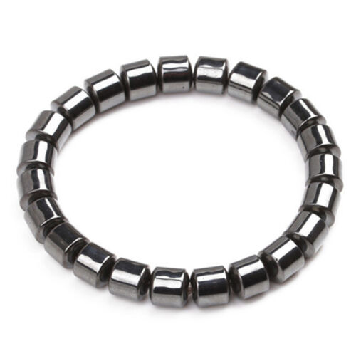 Magnetic Healthcare Bracelet Weight Loss Healthy  Hematite Stone Beads FE