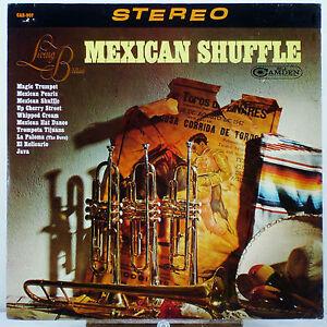 "12"" 33 RPM STEREO LP - RCA CAMDEN CAS-907 - LIVING BRASS MEXICAN SHUFFLE (1965)"