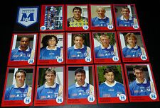 PANINI FOOT 97 SC MONTPELLIER HERAULT PAILLADE COMPLET FOOTBALL SAISON 1996-1997