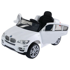 Image Is Loading Kids Ride On Car Bmw X6 12v Electric