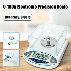 100-x-0-001g-1mg-Electronic-Digital-Lab-Scale-Precision-Analytical-Balance-Set