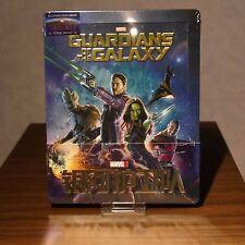 New Guardians of the Galaxy Steelbook Blu-ray 3D+2D Blufans 1/4 Slip
