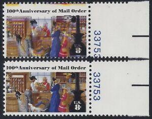 """1468 - Huge Multiple Color Shift Error / EFO Pl# Sing. """"Mail Order"""" Mint NH"""
