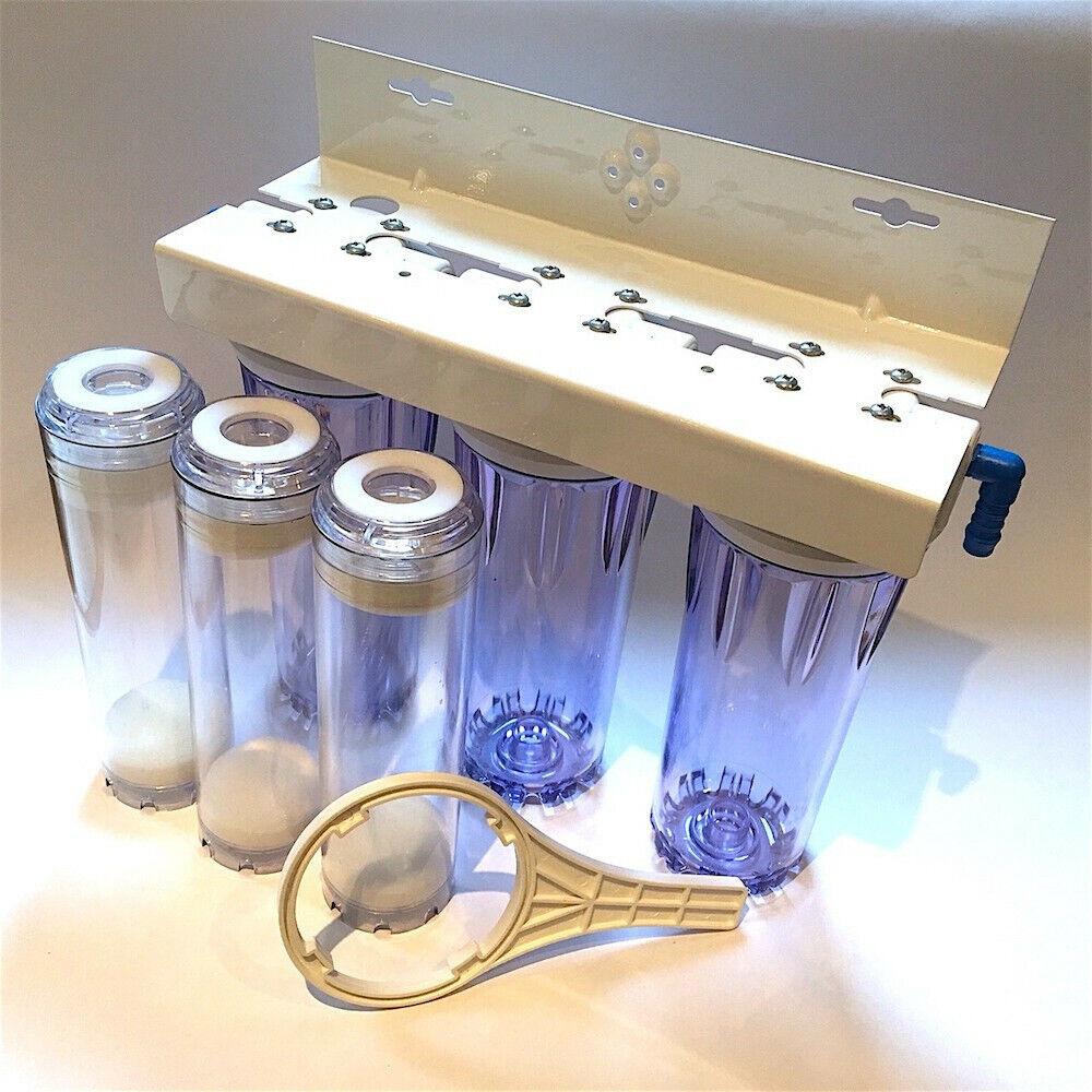 Triple Fließbett Bett Filter für Aquarium Filtrierung Phosphate Reaktor Carbon M