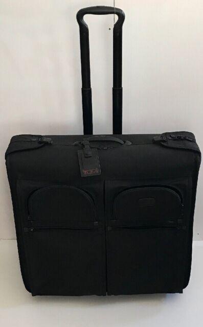 Tumi Alpha Long Wheeled Silver Rolling Garment Bag Wardrobe Luggage 22032s4