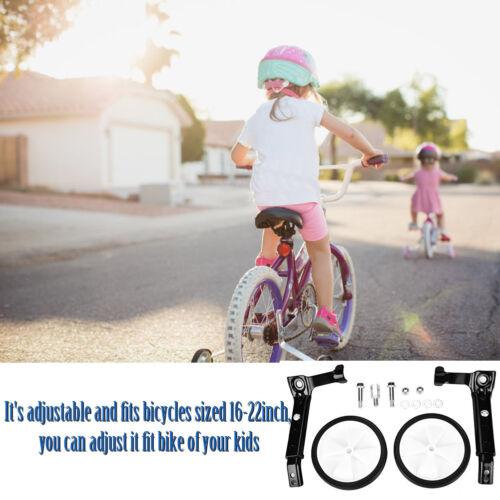 "16/"" t-22/"" Adjustable Speed Bicycle Training Balance Wheels Kids Bikes Stabilizer"