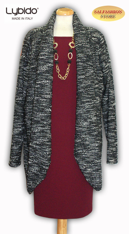 Dust Coat Women's Jacket Winter Made IN Italy Sizes Odd LYBIDO 7872