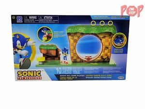 Sonic The Hedgehog Green Hill Zone Playset 192995403932 Ebay