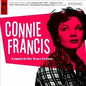 CONNIE-FRANCIS-Lipstick-on-Your-Collar-CD-EXCLLENT-IMPORT