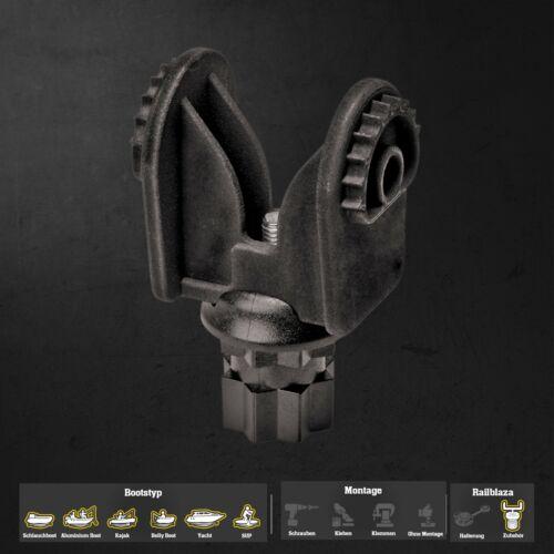 Railblaza Lowrance Hook2 Adaptor für die Befestigung der Lowrance Echolote