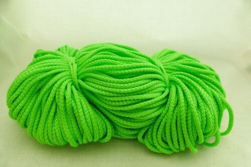 5 METRES 3mm POLYESTER CORD,ROPE,STRING VARIATIONS COLOUR />P/&P FREE/&FAST FROM UK