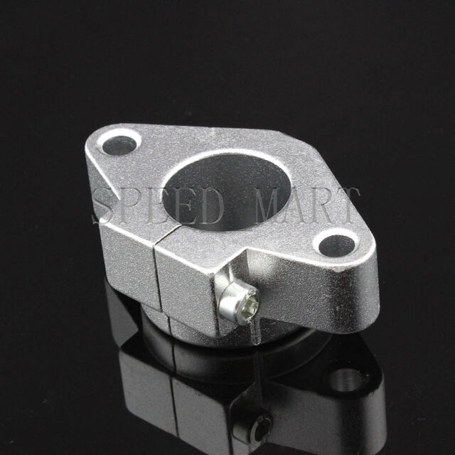 SHF30 30mm Aluminum Rod Holder Linear Rail Shaft Guide Support CNC Mill Bearing