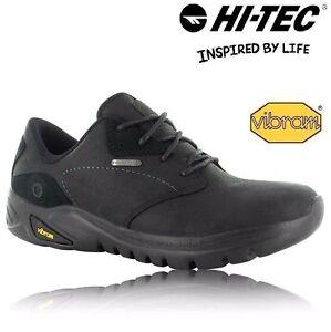 Mens Hi Tec Sensor Leather Walking Shoes