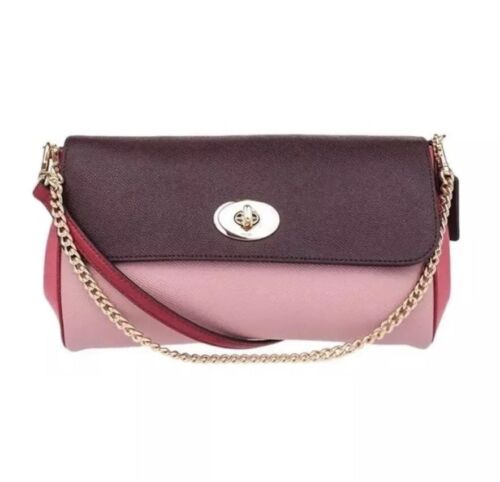 geometrisch leer F57501 Nwt Ruby kruislings Crossbody Coach in XPkTiZOu