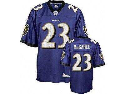 Reebok NFL Equipment Baltimore Ravens #23 Willis McGahee Jersey (L) Purple | eBay