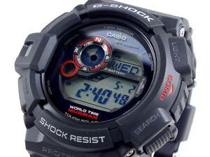 CASIO MUDMAN G-Shock G9300-1 G-9300-1 Black Tough Solar Free Ship ... 6ddefe193f