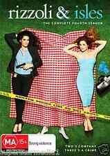 Rizzoli and Isles Season 4 - NEW DVD