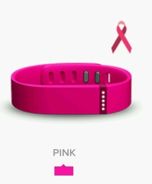 Fitbit Flex Band Small - NEW - PINK Replacement Band Only, No Tracker, No Clasp
