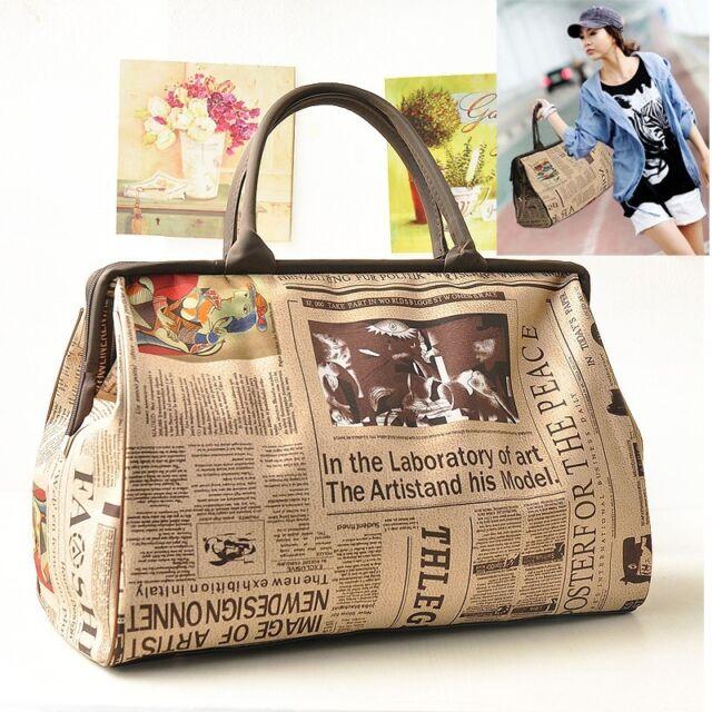 Womens Large Travel/Shopping Bag Shoulder Bag Tote Handbag Briefcase Hobo New