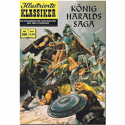 Illustrierte Klassiker 208 König Haralds Saga Comic Club Hannover BSV COMIC