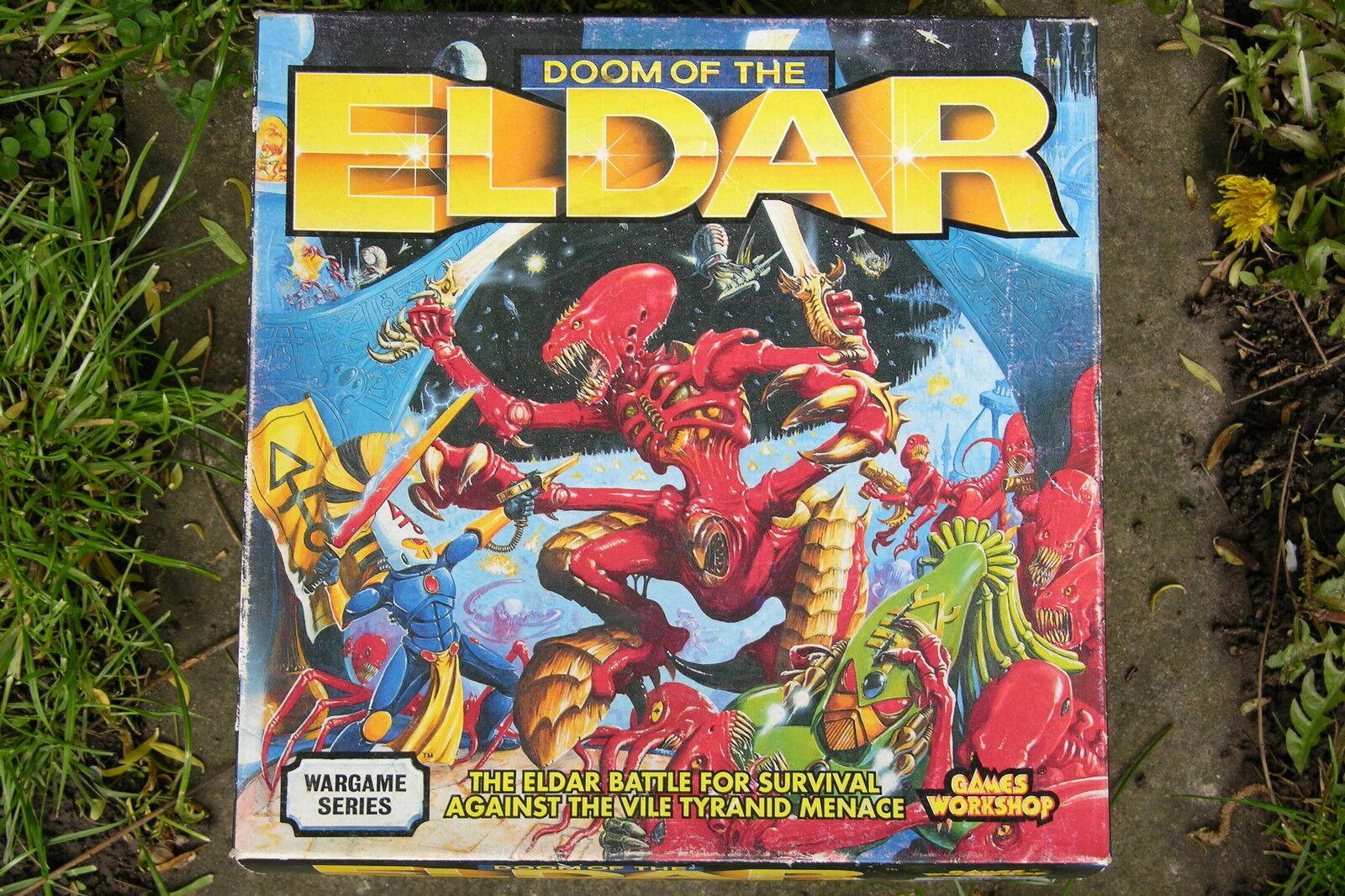 GW Doom de la serie Eldar en Caja wargame