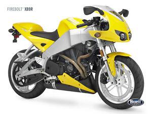 Buell Firebolt XB9R Motorbike Poster Print A4 | eBay