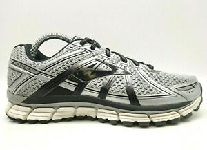 Brooks-GTS-17-Gray-Mesh-Lace-Up-Athletic-Running-Shoes-Men-039-s-8-5-EEEE-4-E
