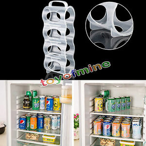 Image Is Loading Refrigerator Storage Box Kitchen Accessories  Beverage Can Space