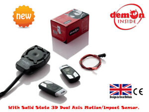 EASY-FIT-Only-Two-Wires-Motorcycle-Motorbike-Scooter-Quad-Trike-Bike-Alarm