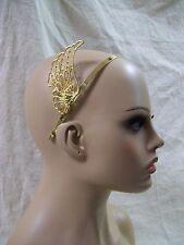 Gold Pegasus Wing Headband Angel Fantasy Greek Goddess Divine Stallion Steampunk