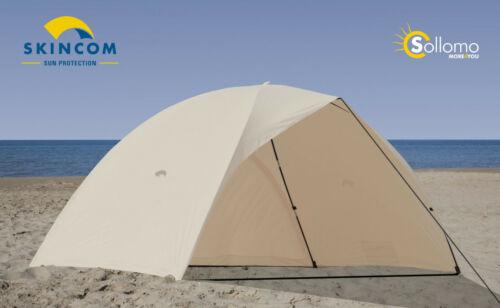 Skincom easy for two shell Wind uv60 beige solar carpa strandmuschel playa carpa