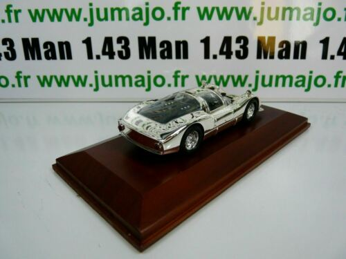 SIL6G VOITURE 1//43 IXO CHROME Porsche 906