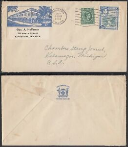Jamaica-1941-Cover-to-Kalamazoo-Michigan-USA-6G-18837-MV-2933
