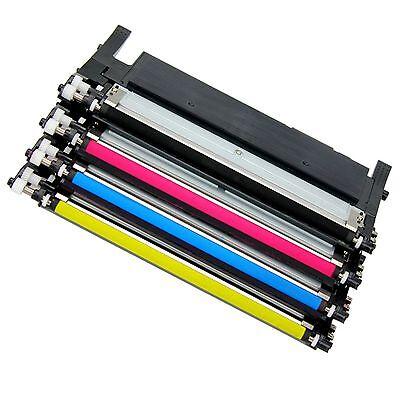 4 CLT-K406S C406S M406S Y406S Color Set For Samsung Xpress C410W C460FW CLP-365W