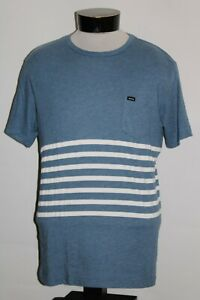 RVCA-Mens-Large-L-striped-T-shirt-Combine-ship-Discount