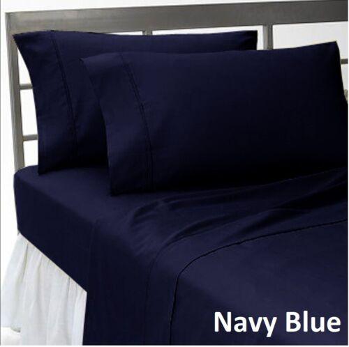 Details about  /Grab It 5 PCs Split Sheet Set 1000 TC Egyptian Cotton Soild Colors US Cal King