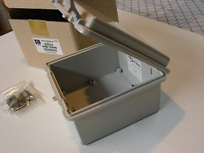 5-... BUD Industries NBB-15240 Style B Plastic Outdoor NEMA Box with Solid Door