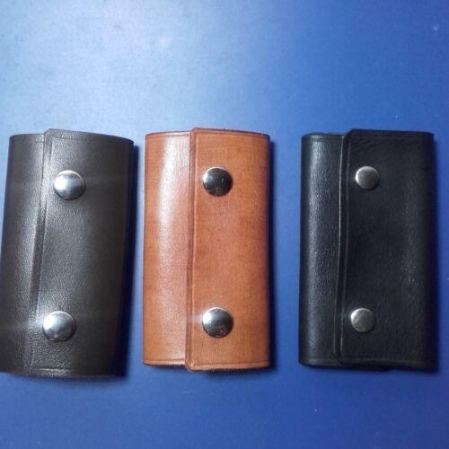 artesano. porta llaves Llavero de cuero piel
