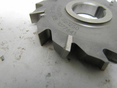Details about  /Fette 80x10x22mm Staggered Tooth Side Milling Cutter A80x10N Sp1250 KHSS-E 10B