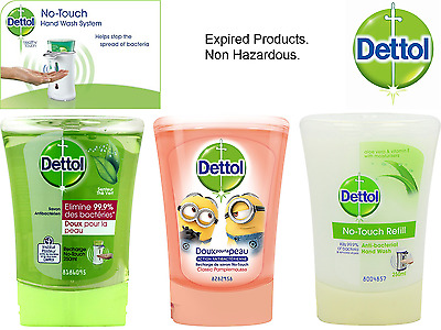 Dettol No Touch Anti Bacterial Recharge Clean Hand Wash