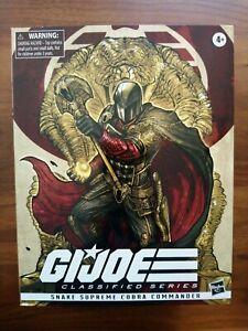 G.I. Joe Classified Series Snake Supreme Cobra Commander Pulsecon Exclusive