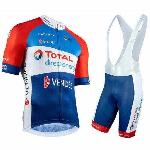 2020 Mens Team Cycling Jersey Bib Shorts Kits Bicycle Jerseys Short Sleeve Bibs